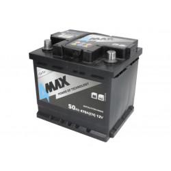 Akumulator 50Ah/470A (P+...