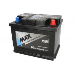 Akumulator 60Ah/540A (P+...