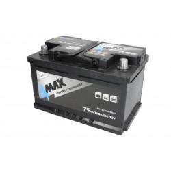 Akumulator 75Ah/700A (P+...