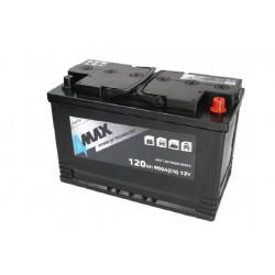 Akumulator 120Ah/900A (P+...
