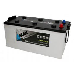 Akumulator 4MAX 230Ah DEEP...